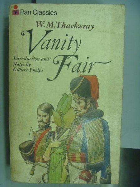 【書寶二手書T3/原文小說_NBW】Vanity Fair_W.M.Thackeray
