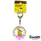 歡呼款【日本進口】布丁狗 Pom Pom Purin 立體漂浮 鑰匙圈 吊飾 三麗鷗 Sanrio - 606082