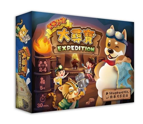『高雄龐奇桌遊』 世界冒險 大尋寶 紙牌遊戲 Expedition 繁體中文版 正版桌上遊戲專賣店