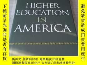 二手書博民逛書店Higher罕見education in America Ame