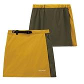 [好也戶外]mont-bell STRETCH OD WRAP SHORTS褲裙-黃金/卡綠-黑色 No.1105583-HG/KG-BK