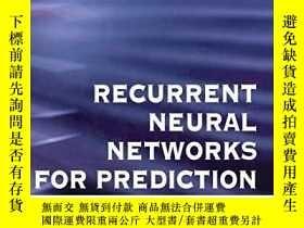 二手書博民逛書店Recurrent罕見Neural Networks For PredictionY256260 Mandic