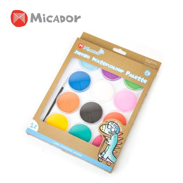 Micador 澳洲 豪華12色畫餅(附畫筆x1)