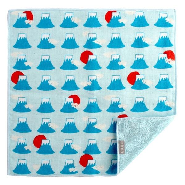 【日本製】【+ima】今治毛巾 Imabari Towel 禮品組  手帕 富士山 SD-2139 - 富士山 熱銷