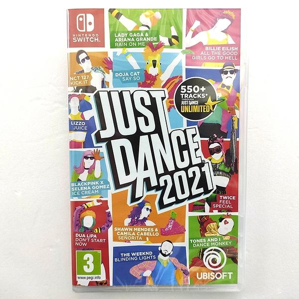 任天堂 NS Switch 舞力全開 2021 Just Dance 2021 多國語文含中文 歐美日版