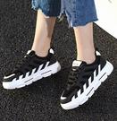 小白鞋 新款春季小白鞋女爆款厚底老爹鞋ins潮網紅百搭休閑板鞋 交換禮物