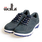 Waltz-磨砂皮透氣休閒男鞋622107-07(藍)
