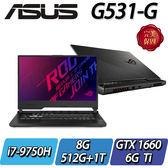 【ASUS華碩】ROG G531GU-G-0101C9750H       ◢15.6吋頂級電競機 ◣