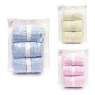 L'Ange 棉之境 九層紗布小方巾3入裝 (4款可選)