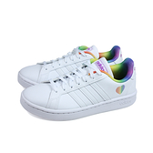 adidas GRAND COURT 網球鞋 運動鞋 白/彩虹 女鞋 H01054 no909