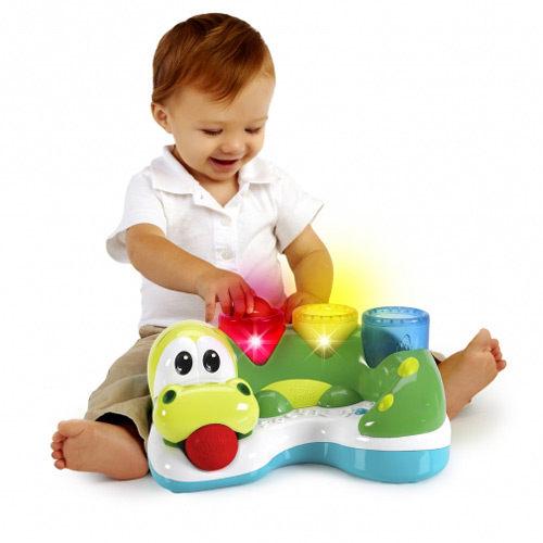 【奇買親子購物網】Kids II-來玩球吧-繽紛小鱷魚打打樂