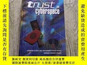 二手書博民逛書店Trust罕見in CyberspaceY402140 Committee on Information Sy