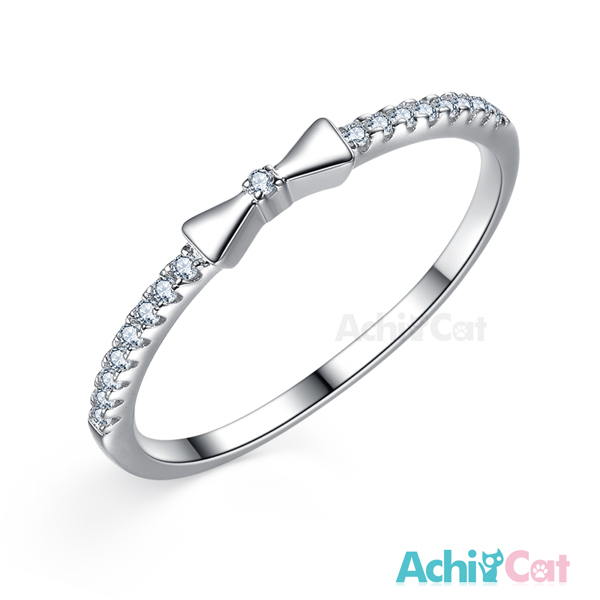 925純銀戒指 AchiCat 純銀飾 甜美氛圍 尾戒