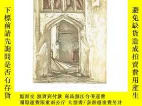 二手書博民逛書店稀缺罕見, 限量,藝術家簽名 簽名《 蝕刻-- 拱門》 約194