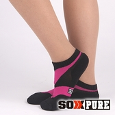 【SOXPURE】女 極速快乾機能襪『玫紅』SP1004 露營.戶外.登山.保暖襪.彈性襪.休閒襪.襪子