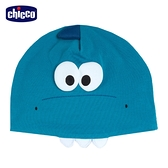 chicco-快樂恐龍-立體造型嬰兒帽-藍