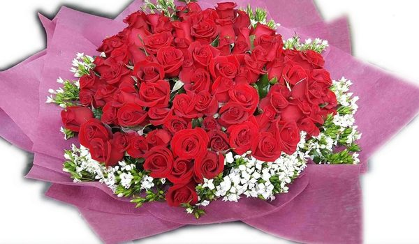 (ys-03)情意花坊超級商城永和花店網路花店~99朵紅玫瑰花束配送歡迎提前預定情人節花束~