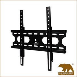 美國布朗熊 W4-42F 牆板固定式-適用23吋~50吋電視壁掛架