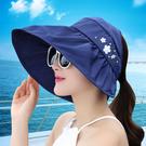 防曬遮陽帽女韓版夏天出遊鴨舌帽防紫外線休閒百搭沙灘捧球帽子女 店慶降價