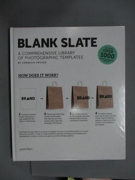 【書寶二手書T9/設計_ZIK】Blank Slate_Craigie, Cordelia