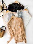蕾絲打底襯蕾絲打底衫女2020洋氣初秋上衣仙薄款網紗內搭長袖雪紡衫透視襯衣 新品