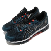 Asics 慢跑鞋 Gel-Quantum 360 6 藍 黑 男鞋 全掌亞瑟膠 運動鞋 【PUMP306】 1021A337400