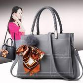 夏季新款潮韓版簡約手提包女士大包包百搭單肩斜挎包