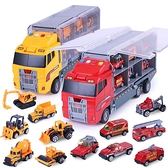 消防車玩具車大號男孩兒童3-6周歲工程貨櫃車合金小汽車模型2-4歲-享家
