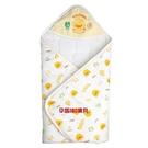 台灣製黃色小鴨雙面布印圖包巾~100%純...