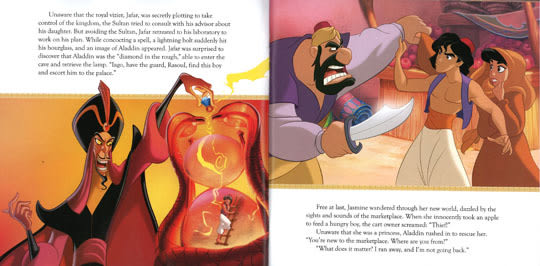 【迪士:阿拉丁】ALADIN READ-ALONG STORY BOOK /英文繪本附CD ‧ 聽迪士尼說故事