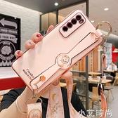 華為nova7手機殼保護殼nova7pro全包鏡頭nova7se硅膠軟防摔nove7外殼女款腕帶 小艾新品