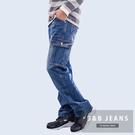 牛仔褲.耐磨厚磅多袋百搭工作褲