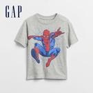 Gap男幼童 Gap x Marvel 漫威系列印花短袖T恤 888574-灰色