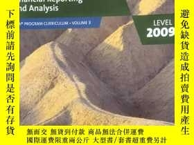 二手書博民逛書店Financial罕見Reporting and Analysis, Level 1 2009 (Volume 3