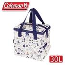 【 Coleman 美國 30L 露營地圖保冷袋】CM-33433/保冰袋/野餐/野外露營
