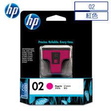 HP C8772WA NO.02原廠紅色墨水匣 適用3110/3310/5180/6180/6280/7180/7280/8180/7160/7260/7360/7460/8230(原廠品)