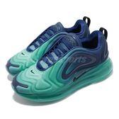 Nike Wmns Air Max 720 Sea Forest 慢跑鞋 藍 黑 漸層 大氣墊 運動鞋 女鞋【PUMP306】 AR9293-400