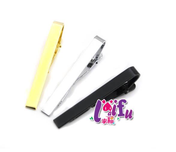 ★草魚妹★k765領帶夾金色5.5cm領夾超新款適領帶夾,售價175元