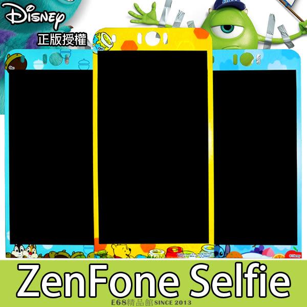 E68精品館 正版迪士尼 華碩 ZenFone Selfie 鋼化玻璃鋼膜 手機螢幕保護貼彩貼 米奇維尼 ZD551KL