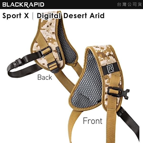 EGE 一番購】BlackRapid【Sport X|Digital Desert Arid】極速相機背帶|含腋下固定帶
