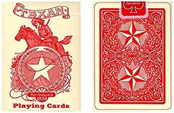 【USPCC 撲克】Texan Playing Cards Deck 1889 (Limited Quantity) by USP. Pla