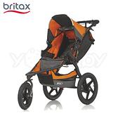 Britax BOB三輪進化慢跑車-桔色