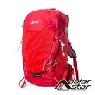 【PolarStar】透氣健行背包27L『紅色』P20814 露營.戶外.旅遊.多隔間.登山背包.後背包.肩背包