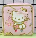 【震撼精品百貨】Hello Kitty_凱蒂貓~三麗鷗 KITTY日本拉鍊短夾/零錢包-仙子#12747
