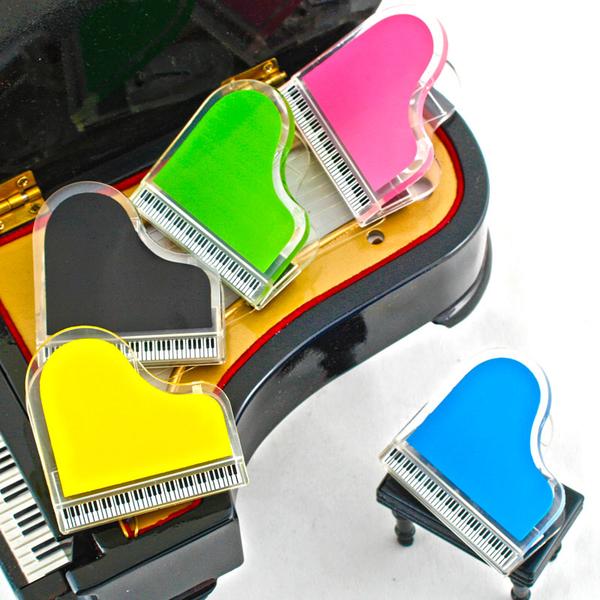 【小叮噹的店】台製 NC081 磁鐵鋼琴夾 三角鋼琴 夾子 譜夾 留言夾 音樂 招生 音樂教室 B20