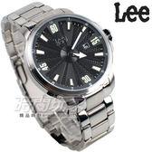 Lee 完全立體面盤 放射個性腕錶 男錶 不銹鋼帶 LES-M29DSDS-13 不銹鋼錶帶 黑