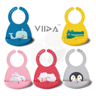 VIIDA Joy 便攜式矽膠圍兜(五款可選)【佳兒園婦幼館】
