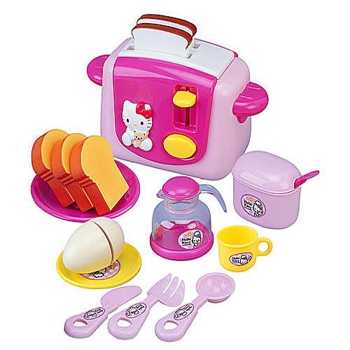 《Hello Kitty家家酒》烤麵包機