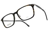 HUGO BOSS 光學眼鏡 0950F 086 (霧琥珀) 男士精品低調簡約款 # 金橘眼鏡