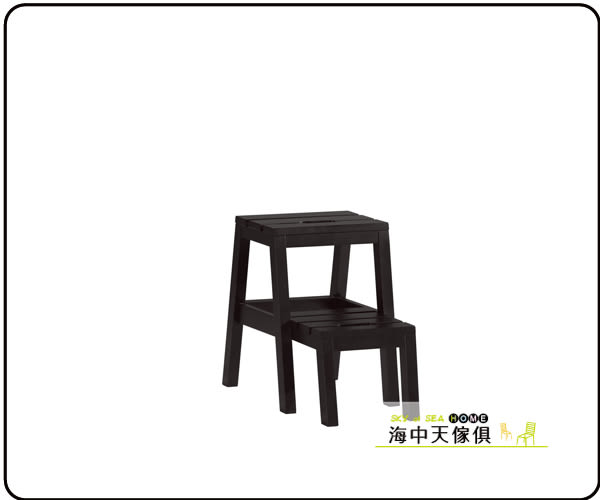 {{ 海中天休閒傢俱廣場 }} F-23 摩登時尚 餐椅系列 1037-15  查理多功能樓梯椅(黑色)